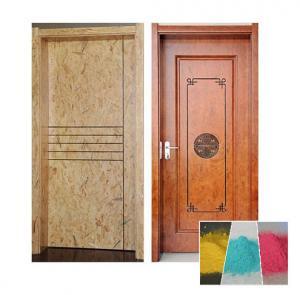 Buy Aluminium Profiles Wood Effect Powder Coating , Decorative Modern Powder Coating at wholesale prices
