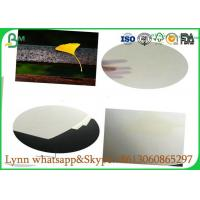 Quality 0.3mm to 3.0mm Glossy Art Paper / Uncoated White Absorbent Paper Hundred Percent Natural Pulp for sale