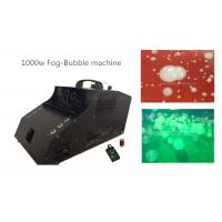Quality 1000 Watt Fog Bubble Machine With 6*3w LED / Timer / Remote Control for sale