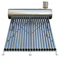 China All stainless steel 304 non pressure compact solar water heater with solar glass tubes on sale