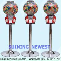 Quality NYST Mini Coin Operated Capsules Gumball Toy Balls Vending Machine for sale