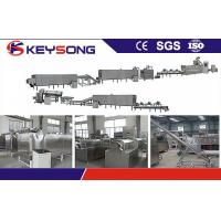 380V SS304 Corn Flakes Processing Line With Double Screw Extruder
