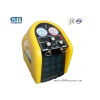 Quality R410a Oil Less Portable Refrigerant Recovery Machine Green or Yellow for sale