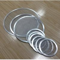 Quality FDA Stainless Steel Barbecue Grill Netting Screen / Mesh Pizza Trays Free Sample for sale