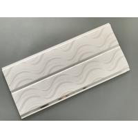 Quality Modern Design Gloss White Ceiling Panels Recyclable Hot Stamping Treatment for sale