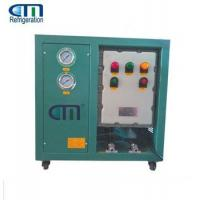 Buy cheap Explosion Proof Refrigerant R290 Oil Less Recovery Machine Green from wholesalers