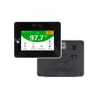 China 4.3 IPS touch Screen Swipe Card Access Control Body Temperature Measurement on sale