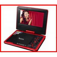 Quality 1024 * 600 Pixels Rotatable Screen 9 Inch Portable DVD Player for Home Use for sale