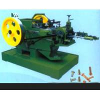 Quality 98% Pass Rate Nail Manufacturing Machine For Hollow / Half - Hollow Rivets for sale