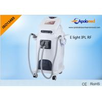 Quality Anti agingE Light IPL RF machine with rf monopolar for skin lifting and tightening for sale