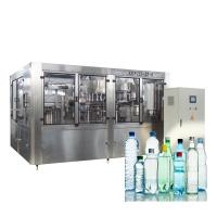 China 10000BPH Washing Filling And Capping Machine Small Scale Bottle Liquid Water Level Sensor on sale