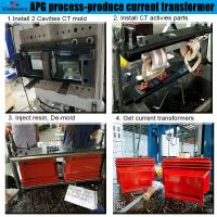 Quality best selling automatic hydraulic press moulding machine for Combination Instrument Transformer for sale