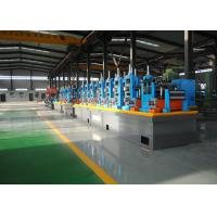 Quality Carbon Steel Erw Tube Mill Line With Worm Gearing Adjustable for sale