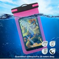 China Clear Underwater Smartphone Case , Waterproof Phone Case Pouch With Strap on sale