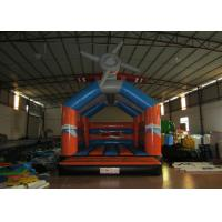 Quality Airplane cartoon inflatable bouncer / commercial inflatable bouncer house for sale