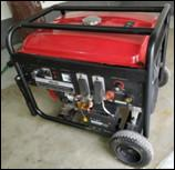 Quality Civilian Portable Gas Welder Generator With AC 5.0Kw Auxiliary Output Power for sale