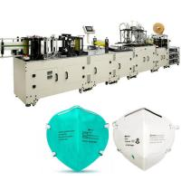 China Industry Fully Automatic Mask Making Machine Face Respirator Production Line on sale