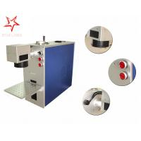 Quality Dot Pin 20W Fiber Laser Marking Machine Easy Operation Laser Marking Equipment for sale