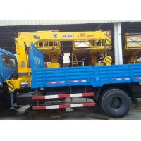 Quality XCMG 5 Ton Telescopic Boom Truck Crane For Landscape Jobs for sale