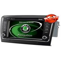 """Quality 8"""" HD TFT LED Automobile DVD Players With Car Camera , Autoradio For Skoda Superb for sale"""