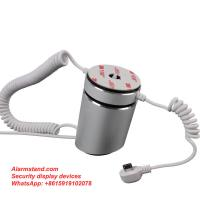 Quality COMER High Sensitive Chargeable Mobile Phone Alarming Phone Security Display Stand for sale