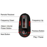Quality Free Shipping Car Kit Mp3 Player Wireless Fm Transmitter Audio Aux USB SD MMC WMA LCD + Remote for sale