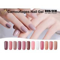 Quality Camouflage Cover Extend Nails Gel , Jelly / Bonding Gel For Nails At Home for sale