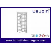 Speed Gate Systems Controlled Access Full Height Turnstile for Subway and Gateway Guard