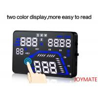 Buy 40g colorful overspeed Alarm head up display navigation for Game Or Air Driving at wholesale prices