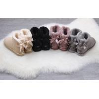 Quality ugg female shoes UGG 1019032 UGG 1019032 metal bright leather bag single bow ribbon waterproof fur one spot 35-40 for sale