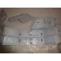 Buy cheap Sill Bar of High Chromium Cast Iron Chute Liners Made in China Hardness more than HRC50 from wholesalers