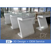 Quality Durable Nice Modern Jewelry Display Cases / Jewellery Counter Display for sale