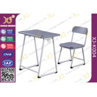 Quality Modern PVC Combo Children School Tables And Chairs With Electrostatic Powder Coating Surface for sale