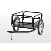 Buy Bicycle Cargo Trailer with Plastic base Max Loading 50 kg at wholesale prices