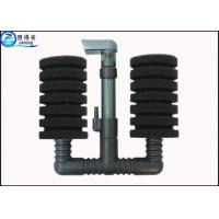 Buy Double-heads Fish Tank Water Filter Connecting Air Pump Custom Home Aquarium at wholesale prices