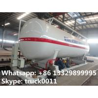 Quality best price 90,000L skid lpg gas plant with electronic scale, pump, motor, and skid for sale; skid lpg station for sale for sale