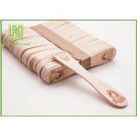 Buy Bulk Custom Printed Wooden Spoons , Ice Cream Taster Spoons With Different Size at wholesale prices