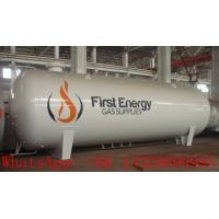 Quality factory sale best price CLW brand high quality 15000L LPG gas storage tank, 15m3 surface propane gas storage tank for sale
