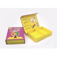 Buy Handmade Cardboard Magnetic Closure Box Slide Out Box With Foam Insert at wholesale prices