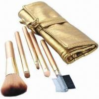 Quality Makeup Brush Set with Aluminum Ferrules for sale
