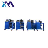 Quality High Acurracy Hydraulic Hose Crimping Machine To Repair Air Suspension Air Spring With Screen Fitting for sale