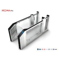 Quality Airport Speed Gate Turnstile RS232 SS With Facial Recognition Fingerprint System for sale