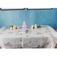 Quality Printed Biodegradable Paper Tablecloth For Children Birthday Decoration for sale