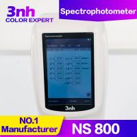 Quality Chroma Meter Portable Color Measurement Equipment NS800 Optical Geometry 45/0 Color Tester for sale