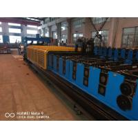 Buy cheap PLC System Steel Silo Corrugated Side Panel Roll Forming Machine from wholesalers