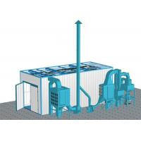 Quality Large Parts Industrial Blasting Cabinet Corrosion Inhibitor With 2 Spray Guns for sale