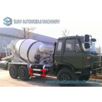 Quality Dongfeng 6 X 6 All Wheel Drive 5 M3 Concrete Mixture Truck Off Road for sale