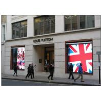 Quality High Brightness Transparent LED Display for Glass Wall Advertising Building for sale