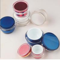 Quality empty 15gm 30gm 50gm skin care packaging palstic cosmetic acrylic  jars for sale