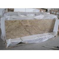 Quality Prefab Laminate Natural Stone Countertops For Kitchens Yellow African Dragon Granite Material for sale